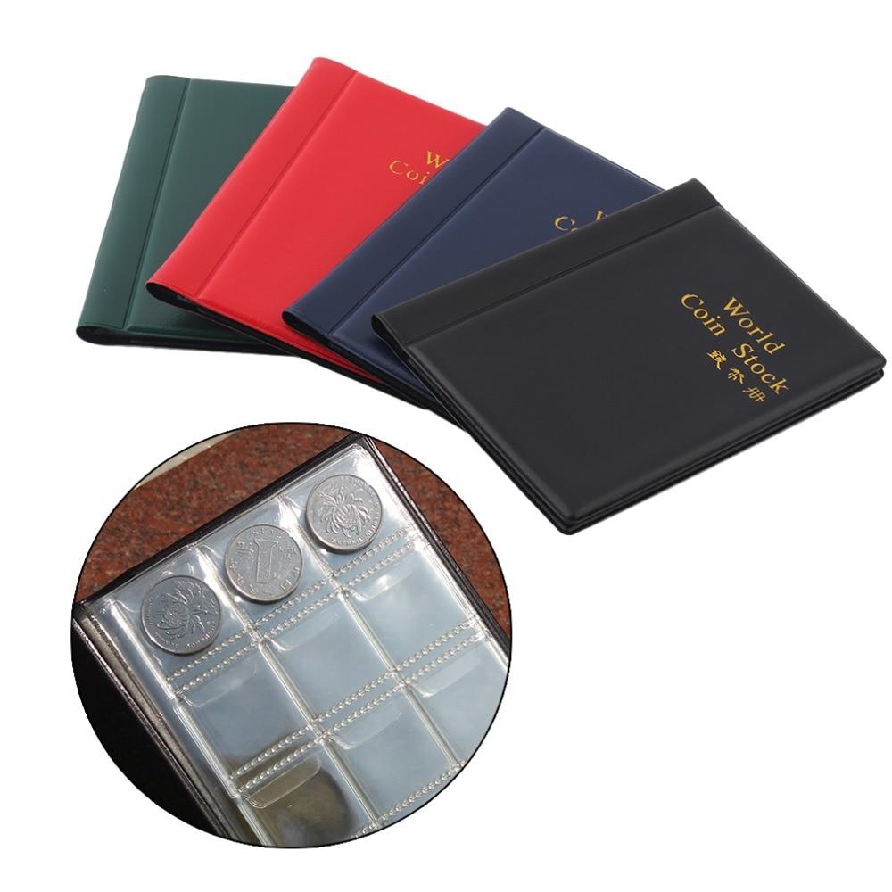 Памятная коллекция монет, объемный чехол, книга для хранения, пустая папка для монет, 120 монет, Прямая поставка