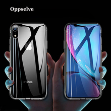 hot deal buy oppselve tempered glass case for iphone xr xs max x 10 transparent protective glass cases for iphone x s xr coque funda capinhas