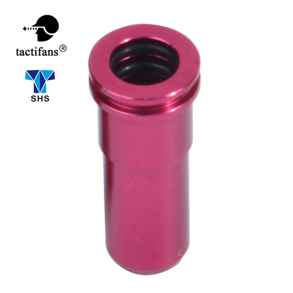 High Seal CNC Aluminum Double O-ring Air Seal Nozzle For M4 M16 Series Airsoft AEG Hunting Accessories