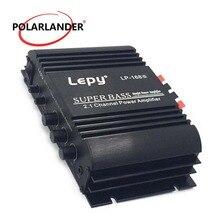 LEPY LP-168 12V Stereo Home Audio Car Motor Power Amplifier