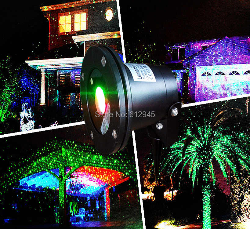 Christmas waterproof laser landscape light for outdoory star rainproof stage lightg mozeypictures Gallery