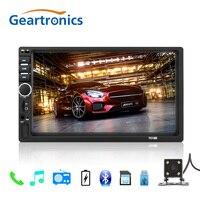 2 din car radio 7 HD Player MP5 Touch Screen Digital Display Bluetooth Multimedia USB 2din Autoradio Car Backup Monitor 7018B