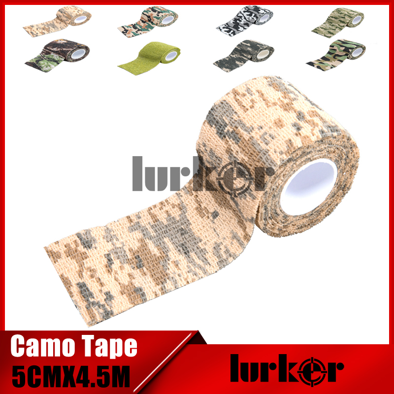 Stealth-Tape Wrap Riflescope Camera-Lens Airsoft Army Disguise Hunting Waterproof Camouflage