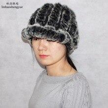 Linhaoshengyue меховая шапка 2016 теплый Теплый кролик freeshopping