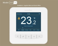 Hailin Wifi Touch Screen LCD Thermostat For Heating And Air Conditioning With English Version App On