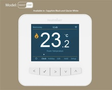 Programmable Colorful Wifi Thermostat for Floor Heating and Boiler Controlled by  Android and IOS phones within 15 days delivery