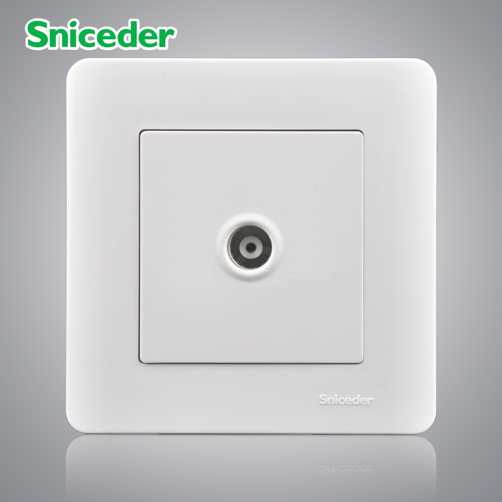 Scinder kabel TV steckdose typ 86 CCTV outlet verdeckten wand panel ...