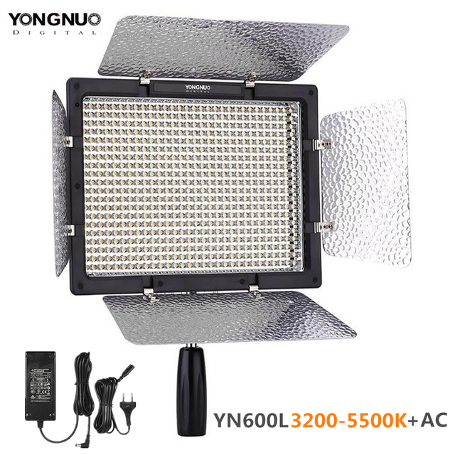 YONGNUO YN600L YN600 LED لوحة إضاءة الفيديو 3200 K 5500 K LED إضاءة التصوير الفوتوغرافي مع تطبيق لاسلكي للتحكم عن بعد