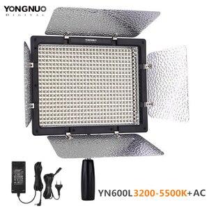 Image 1 - YONGNUO YN600L YN600 LED Video Light Panel 3200 k 5500 k LED Fotografie verlichting met Draadloze Afstandsbediening APP Remote controle
