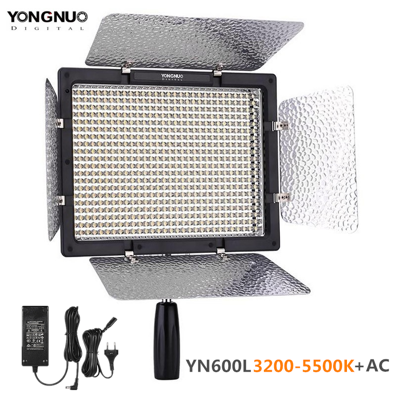YONGNUO <font><b>YN600L</b></font> YN600 LED Video Light Panel 3200K-5500K LED Photography lighting with Wireless Remote APP Remote Control image