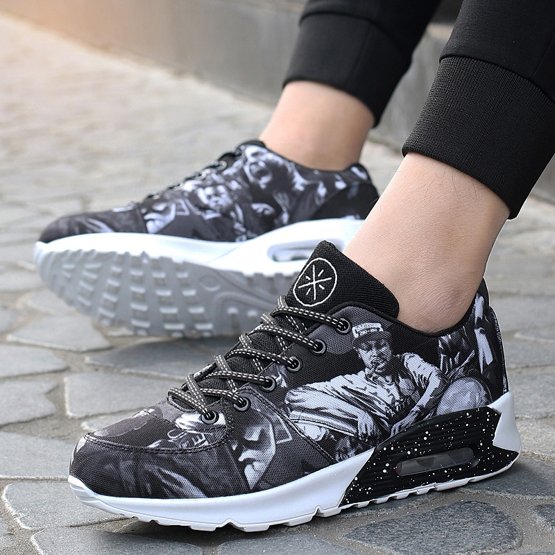 Hot Sale Men Women Sports Shoes Running Brand 2018 Comfortable Walking Jogging Sneakers New Black Red Couples Athletic Trainers