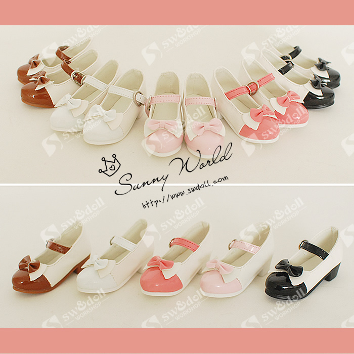 1/3 1/4  Scale BJD shoes for dolls.doll shoes for BJD/SD.A15A1225.only sell doll shoes.not included the doll and clothes only a promise