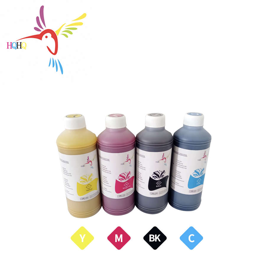HQHQ Pigment Ink 4X500ML For <font><b>Epson</b></font> S30600 S30610 S30680 <font><b>S30670</b></font> <font><b>Epson</b></font> Color 3000 Printer high quality pigment ink for <font><b>epson</b></font> image