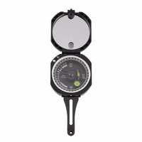 Pocket Geological Compass Portable Camping Hiking Military Outdoor Lightweight Navigation Survival Professional Ultralight