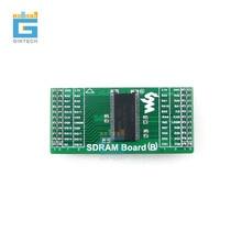 Sdram 보드 h57v1262gtr 동기식 sdram 모듈 메모리 8mx16bit 평가 개발 저장 모듈 키트