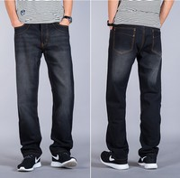 Plus Size 44 46 Mens Spring Summer Jeans 2017 New Fashion Men Casual Jeans Pants Straight
