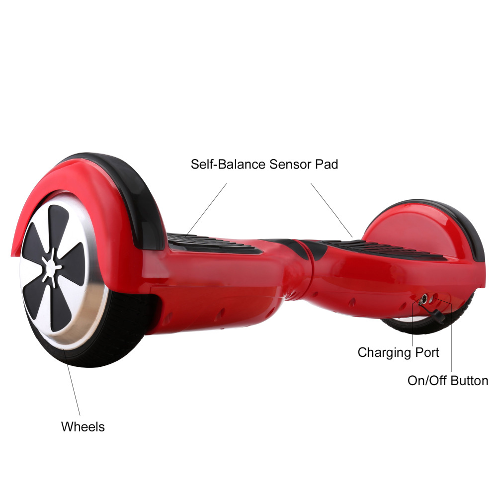 iScooter Self Balancing Hoverboard or two-wheel Skateboard with LED Light 14
