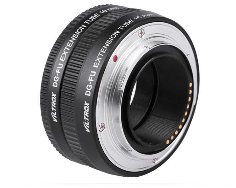 VILTROX DG-FU Tự Động lấy nét AF Kim Loại Macro Extension Ống Nhẫn Lens Adapter Núi đối với Fujifilm X X-Pro2 X-T2/T1 x-T20/T10 X-E2S A10