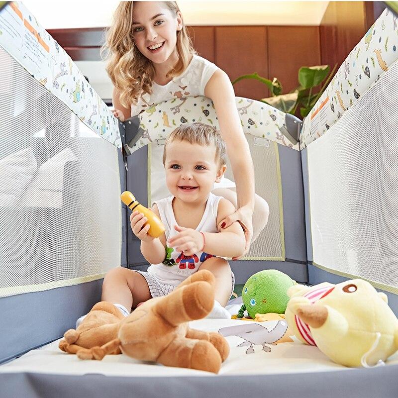2020 розкладне дитяче ліжко подорож - Дитячі меблі - фото 5