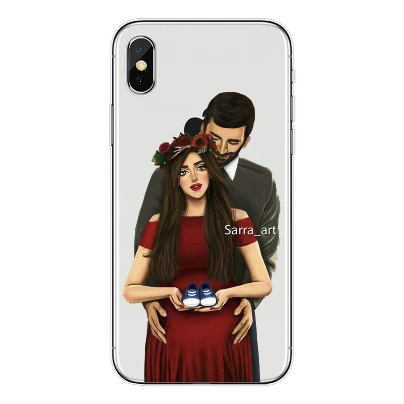 Shopping Girl Wedding Pregnant Woman Colorful Silicone Soft Tpu Phone Case For Iphone X 10 8 7 6 6splus 5s Xsmax Xr 11pro Max Aliexpress