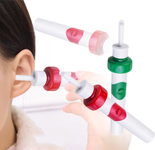 Automatic Electric Smart Ear Cleaner Ear-pick Easy Earwax Removal Soft Cleaner Prevent Ear-pick Clean Tools Set