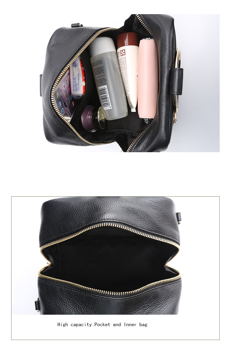 HONGU Luxury Cow Leather Handbags Women Bags Brands Ring Evening Purses Lady Mini Crossbody Shoulder Bags Female Messenger Totes     H5140080992 (11)