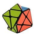 YongJun Eixo Cubo Mágico Mudança Irregularmente Jinggang Cubo de Velocidade com Adesivo Fosco YJ 3x3x3 Preto Corpo cubo Novo