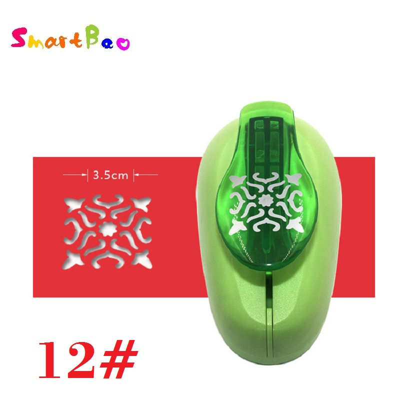 Large Kawaii Scrapbooking Punch Hollowed-out Pattern Big Perforatrice Pour Scrapbooking ; Pattern Width About: 3.5cm/1.38