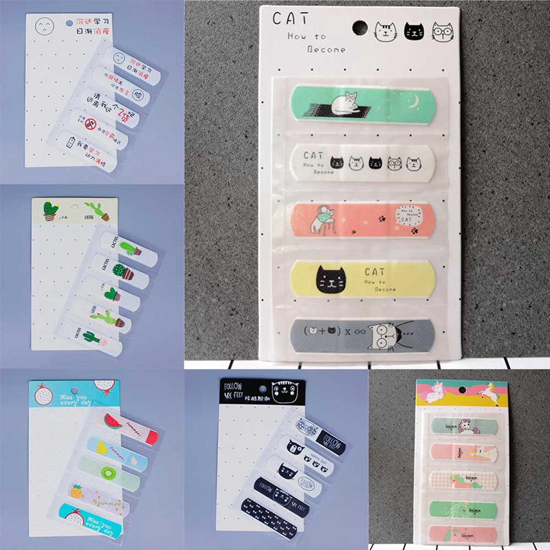 1 Set/10 PCS Cute Animation Waterproof Cartoon Bandage