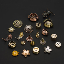 PINNY металлический креативный держатель для благовоний, цинковый сплав, муравьиная основа для благовоний, металлические изделия, украшение дома, сандаловое дерево, курильница для благовоний