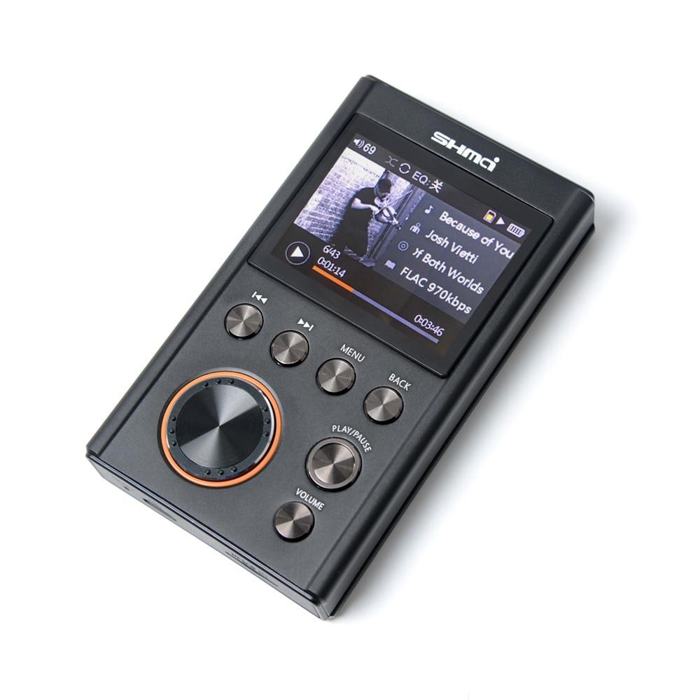 SHMCI C5 HIFI MP3 DSD Professional MP3 HIFI Music Player Support Headphone Amplifier DAC wm8965 DSD256