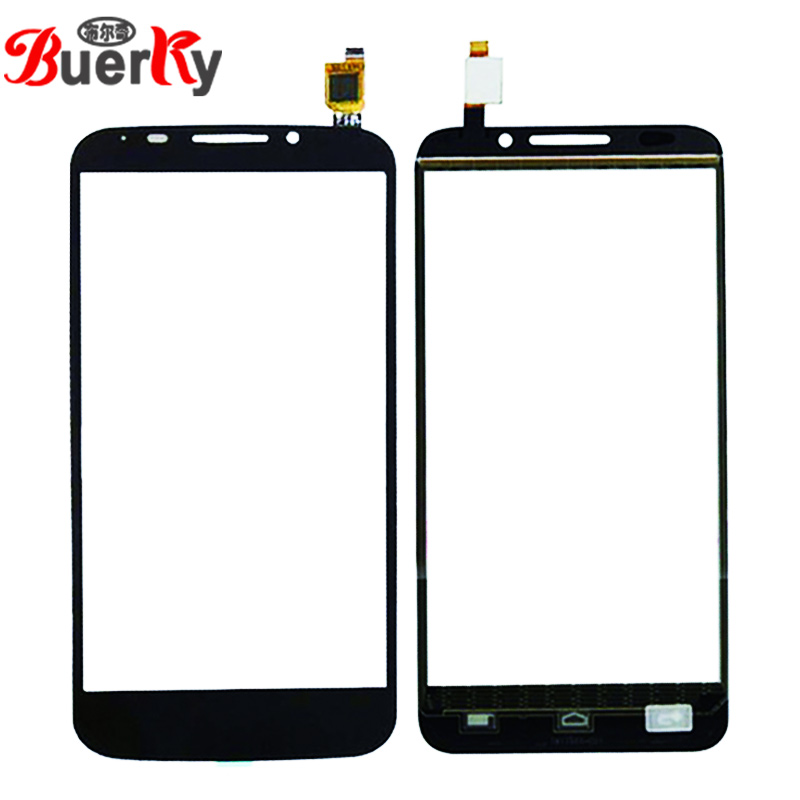 BKparts 5pcs For Alcatel One Touch Pop S7 OT7045 7045 7045A <font><b>7045Y</b></font> Touch Screen Touch Panel Glass Sensor Digitizer Replacement image