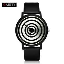 2017 New Fashion Watches Women Luxury Brand Black Leather Casual Analog Bracelet Bangle Wristwatches Women's Dress Quartz Watch