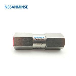 Image 2 - CV OD/F Mini hat çek valf 6000 Psi paslanmaz çelik 316L 1/8 1/4 3/8 1/2 3/4 SS çek vana NBSANMINSE