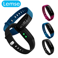 Lemse Blood Pressure Smart Band Bluetooth Smart Bracelet Heart Rate Monitor Smart Wristbands Fitness for Android IOS Phone