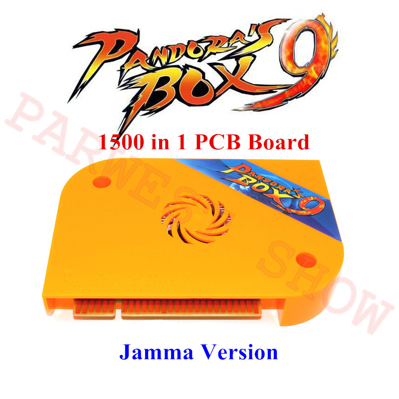 Newest Pandora box 9 Jamma multi board pcb multigame card VGA HDMI output 1500 in 1