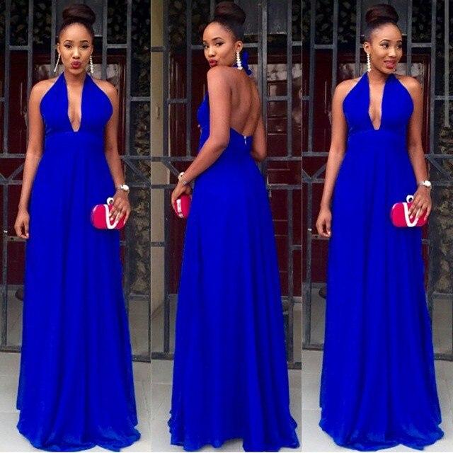Vestidos de cerimonia em azul