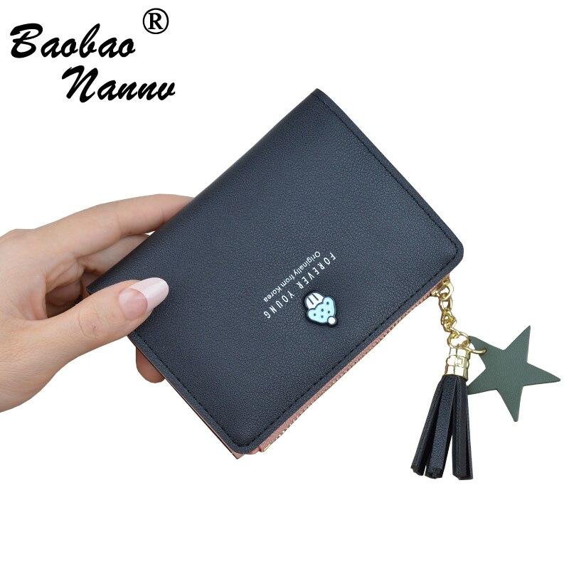Women Wallets Cute Strawberry Small Purse Women Card Bag For Girls Ladies 2019 New Clutch Holder Female Purse Money Clip Wallet