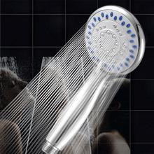 Серебристая хромированная насадка для душа с 3 режимами, спрей, антиизвестковый налет, универсальная ручная насадка для дома, ванной комнаты, аксессуары для экономии воды