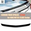 W212 V стиль спойлер заднего крыла из углеродного волокна для Mercedes Benz W212 E-Class E200 E260 E300 E350 E400 E63 AMG Sedan 2012-2016