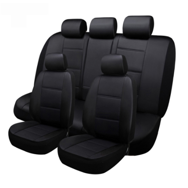 (Front+Rea)5 Seats leather Custom car seat cover For BMW e30 e34 e36 e39 e46 e60 e90 f10 f30 x3 x5 x6 car accessories auto image