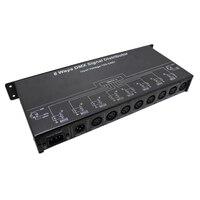 AC110V 220V 8 Channel DMX controller DMX128 DMX amplifier/Splitter/DMX signal repeater/8 output ports DMX signal distributor