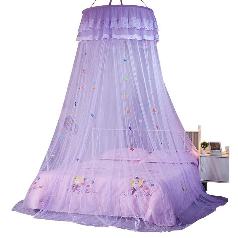 Folding Hung Dome Mosquito Net Round Kids Conapy Baby Bed Canopy Mosquito Net Mesh Curtain Anti Insert Bed Tent For Adults dosel