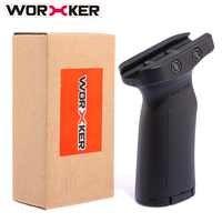 Arbeiter Einstellbarer Griff Spielzeug Zubehör für Nerf Spielzeugpistole mit Führungsschiene (Typ A)