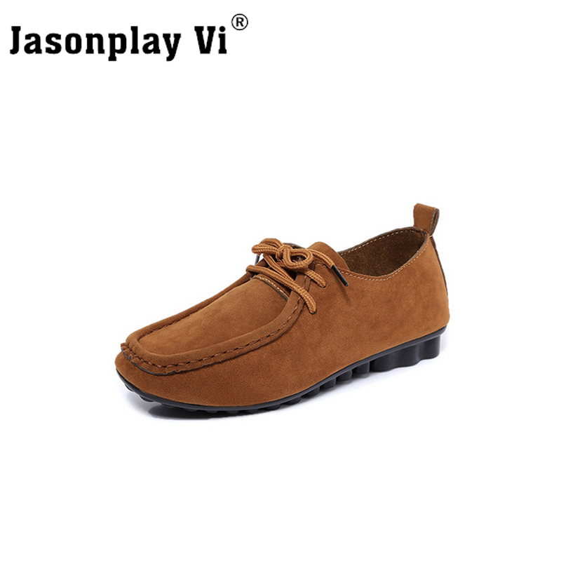 Jasonplay Vi & 2017 New Comfortable Genuine Leather women shoes high-quality high heels solid color shoes women PDD13