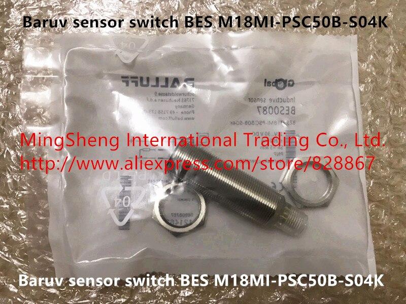 Original nouveau 100% baruv capteur interrupteur M18MI-PSC50B-S04K BES garantie pour un anOriginal nouveau 100% baruv capteur interrupteur M18MI-PSC50B-S04K BES garantie pour un an
