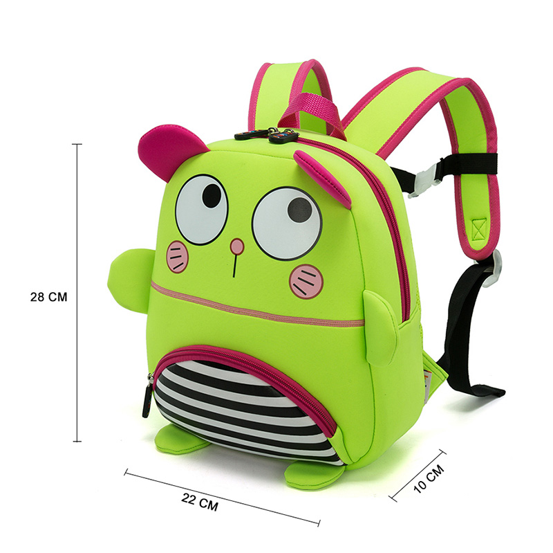 6f22ff1772f Dropwow Children School Backpack Cartoon One-eyed Monster Waterproof ...