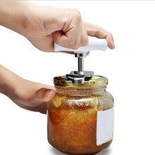 Консервный нож из нержавеющей стали, регулируемые открывалки для банок, ручное спиральное уплотнение, крышка для снятия крученого винта, открывалка для бутылок, кухонные гаджеты