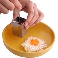 Creative Stainless Steel Press Maker Tofu Cutter Kitchen Cooking Tools Gadgets Vegetable Slicer Shredders