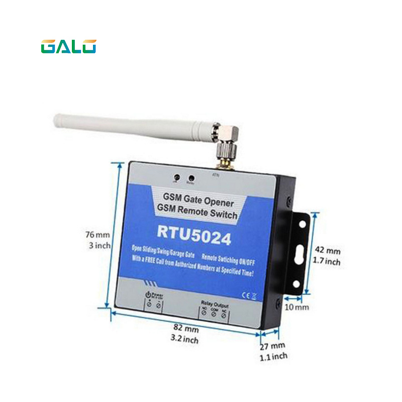 200 users Wireless GSM gate opener for NICE FAAC MIGHTY MULE BFT CAME brand Remote Switch Garage Door swing Gate Opener